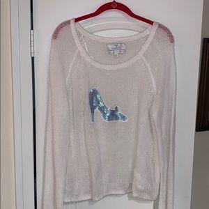 Disney Cinderella by Lauren Conrad slipper sweater